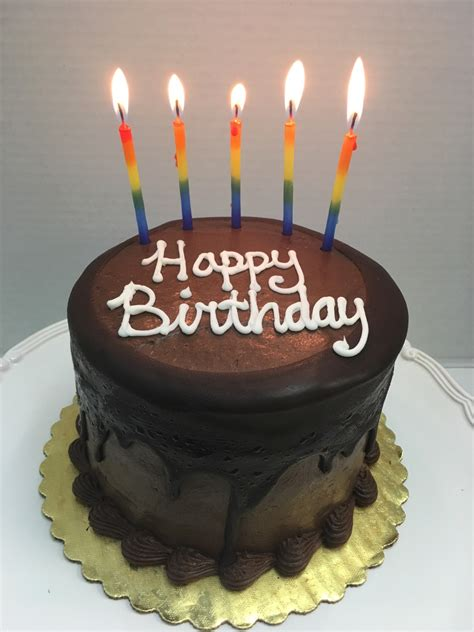Happy Birthday Prizewinning Chocolate Layer Cake (4layer