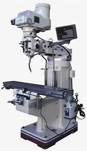 Gmc 9 U0026quot  X 49 U0026quot  Vertical Knee Type Manual Milling Machine