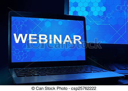 Stock Photo Of Computer With Words Webinar Internet Technology Concept Csp25762222 Search