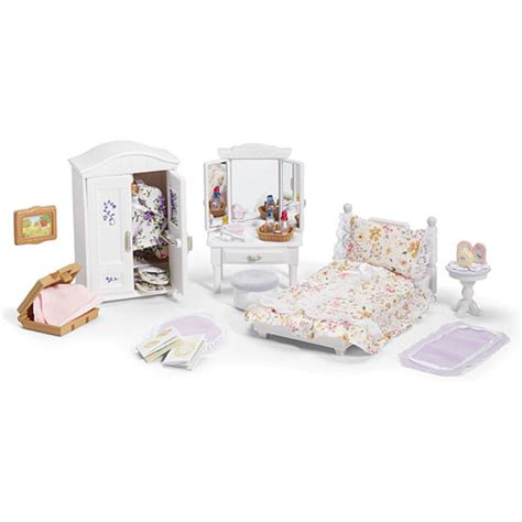 calico critters girl s lavender bedroom set amazing toys