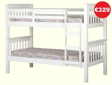 bunk bed store neptune white bunk bed frame the bed store