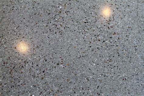beautiful polished concrete at the broadway pier life deck