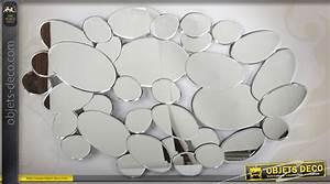 Castorama Deco Murale : grande d co murale miroir multifacettes en forme de galets 90 cm ~ Teatrodelosmanantiales.com Idées de Décoration