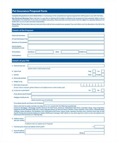 sample pet agreement forms   ms word