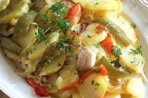 patatas  lo pobre receta de cocina facil sencilla