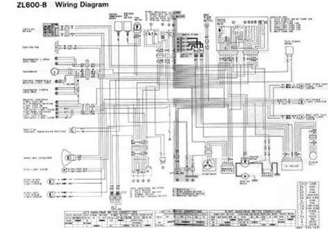 Wiring Diagram With Schematic For A 1998 400 4x4 Arctic Cat Atv by Kawasaki Zl600 1996 Motorcycle Wiring Diagram All About