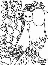 Coloring Crayola Snow Pages Sledding Christmas Winter Sheets Print Adult Printable Outdoors Snowman Colouring Snowflakes Sheet Preschool sketch template