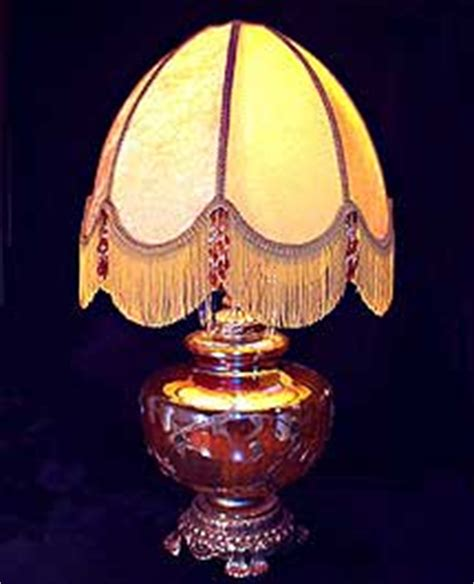 recover lamp shades  art  hand sewn lamp shades