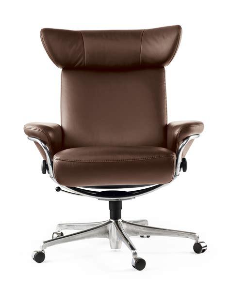 fauteuils bureau fauteuil de bureau design marron stressless
