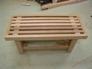 Dempsey woodworking bench for Wood bench ideas