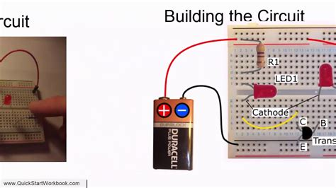 How To Use An Npn Transistor To Switch On An Led