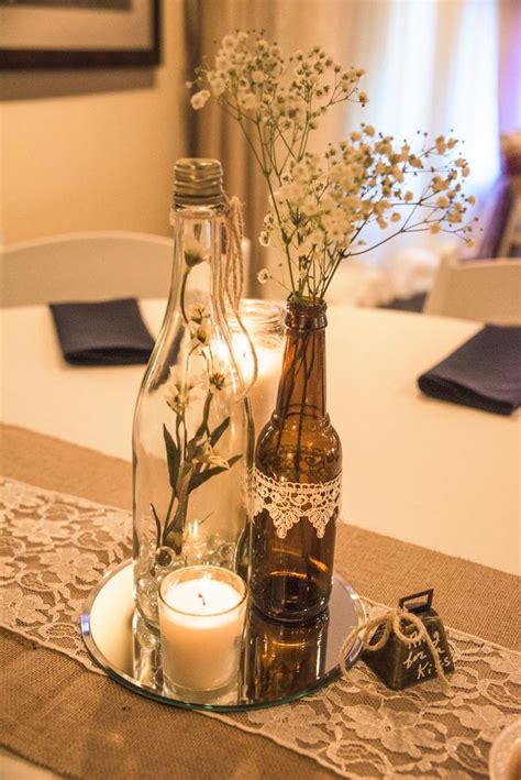 wedding decorative bottles wine bottle vases sitting