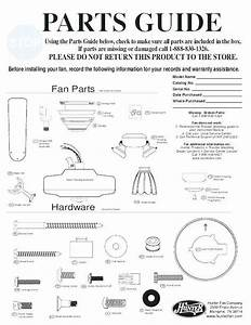 Replacement Ceiling Fan Parts