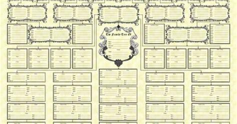 printable family tree form blank family tree charts