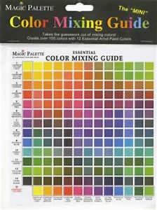 Colour Mixing Chart For Artists Artists Painting Crafting And Special Effects Tools