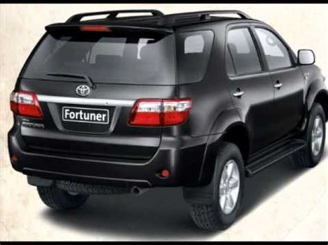 toyota fortuner model specification exterior interior
