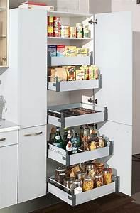 Smart Home Ideen : hochschrank k che ada weiss hochglanz wohnen einrichten ~ Lizthompson.info Haus und Dekorationen