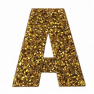 The gallery for --> The Letter D In Gold Glitter