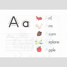 Alphabet X Tracing Worksheets For Preschool And Kindergarten Capital Small Letter A Worksheet