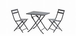 Table De Jardin Grise : table grise en m tal achetez nos tables grises en m tal ~ Teatrodelosmanantiales.com Idées de Décoration