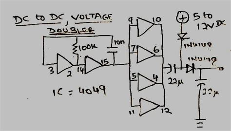 How Make Simple Voltage Doubler Circuit