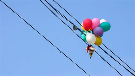 rogue balloons  outage  downtown vancouver