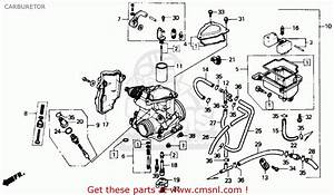 Honda Trx350 Fourtrax 4x4 1987  H  Usa Carburetor