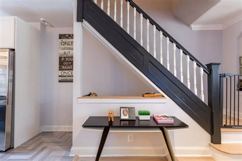 dated queens townhouse  transformed   modern