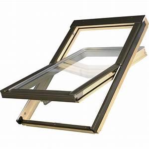 Fenetre De Toit Fixe Prix : fen tre de toit par rotation primo 78 x 98 cm leroy merlin ~ Premium-room.com Idées de Décoration