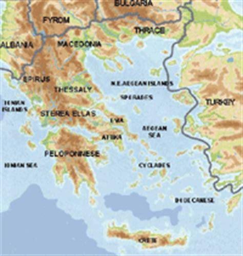 attica map  attica greece