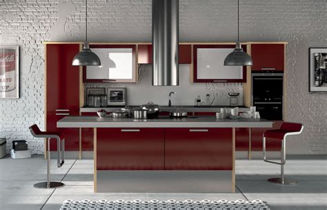 cuisine couleur cappuccino premier duleek kitchen doors in high gloss burgundy by