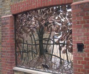 handmade metal railing sculpture matt dingle