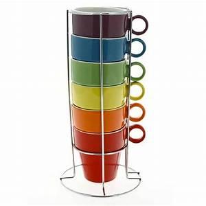 Support Tasse à Café : tasse caf cappuccino x6 so city ~ Teatrodelosmanantiales.com Idées de Décoration