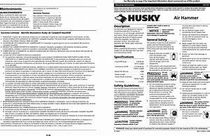 Husky Hdt103 Users Manual 2713 0206