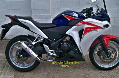 honda cbr latest model gbmoto race exhaust honda cbr 250 cbr250 new model 2011 2012