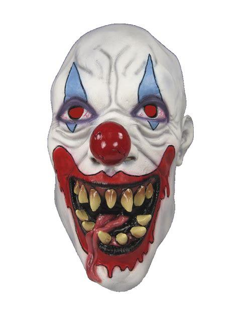 demon killer clown scary soft rubber latex costume mask ebay