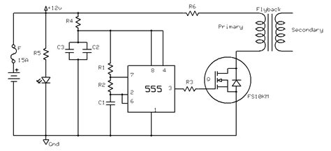 Diy High Voltage Power Supply With Flyback Transformer
