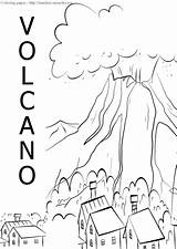 Volcano Coloring Sheets Timeless Miracle Pages Related Posts sketch template