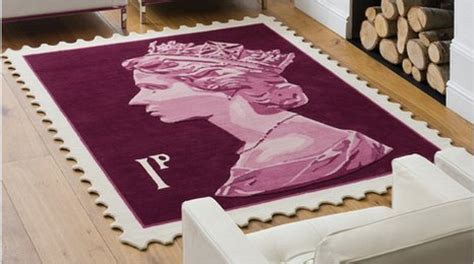 Bbc  Stamp Rugs By Royal Approval
