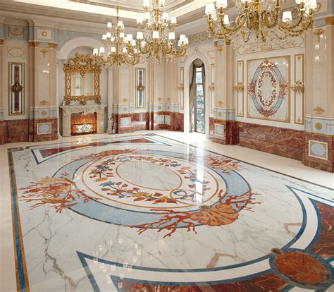 italian flooring design classic interiors luxury budri italian marble inlay