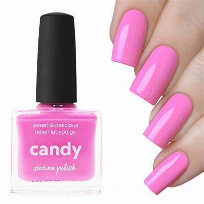 Nail Polish Candy Nails Pink Barbie Try