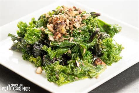 cuisiner chou kale recette de chou kale sauté aux fruits secs et graines