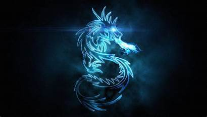 Dragon Neon Wallpapers Background Backgrounds Cave Walpaper