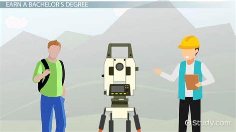 engineering surveyor education  career roadmap