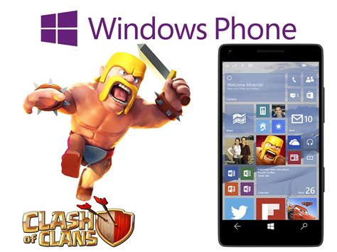 clash of clans para windows phone