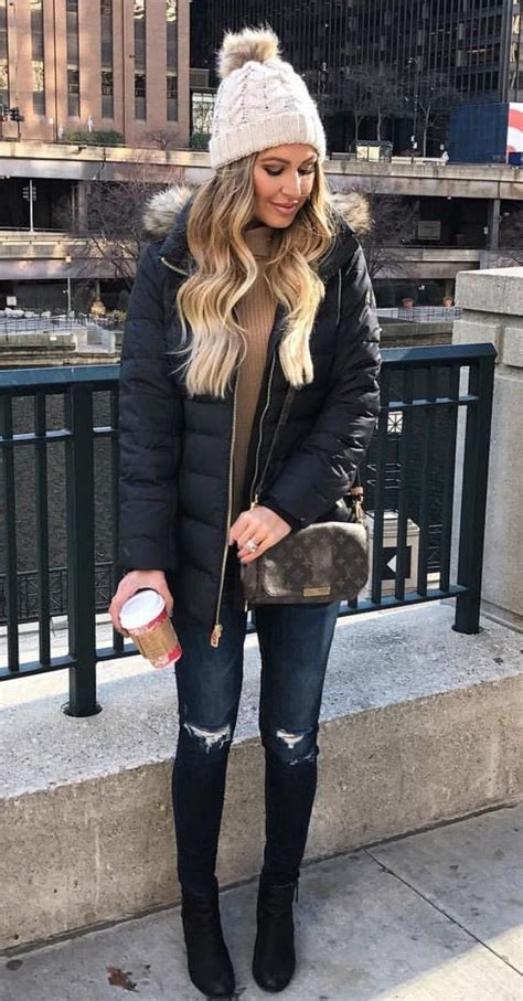 25+ Best Ideas about Cold Weather Outfits on Pinterest | Cold winter outfits Snow day outfit ...