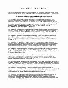Statement Of Philosophy And Conceptual Framework