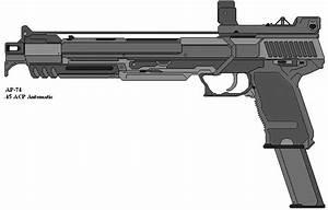 Auto 45 : ap 74 automatic 45 acp pistol by souless hero on deviantart ~ Gottalentnigeria.com Avis de Voitures