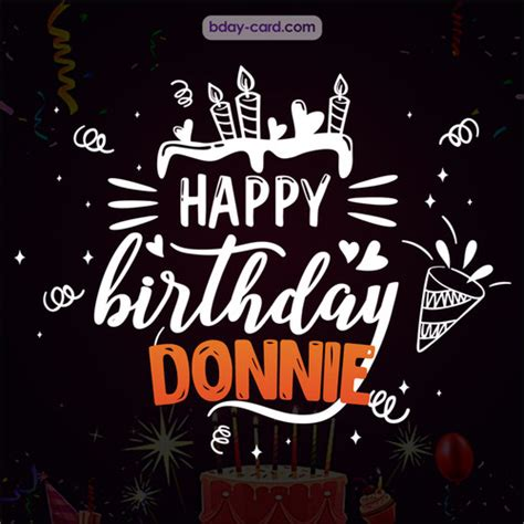 birthday images  donnie  happy bday pictures