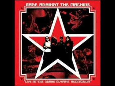Rage Against The Machine - The Ghost Of Tom Joad - YouTube
